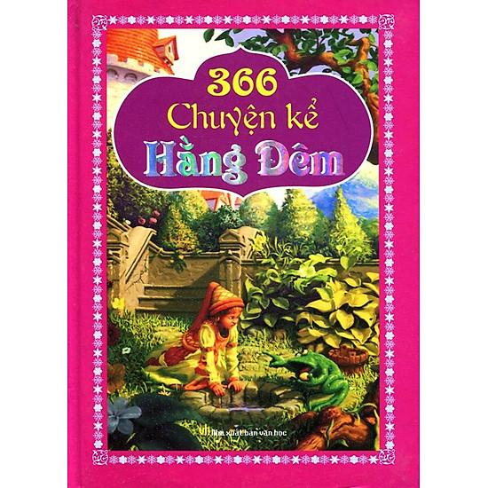 Hình ảnh download sách 366 Chuyện Kể Hằng Đêm (Bìa Cứng)