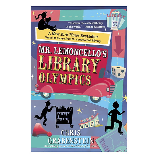 [Download Sách] Mr. Lemoncello's Library Olympics