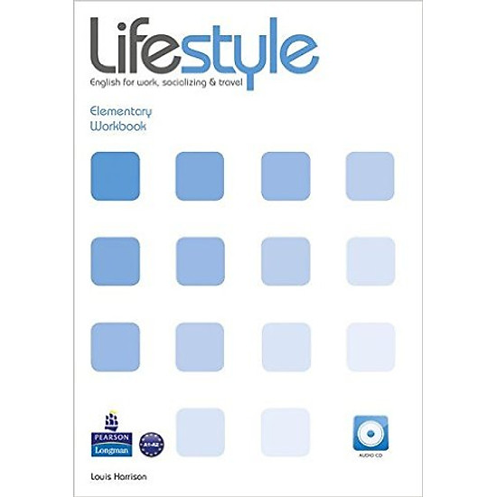 Lifestyle Ele: WorkBook with Audio CD – Paperback
