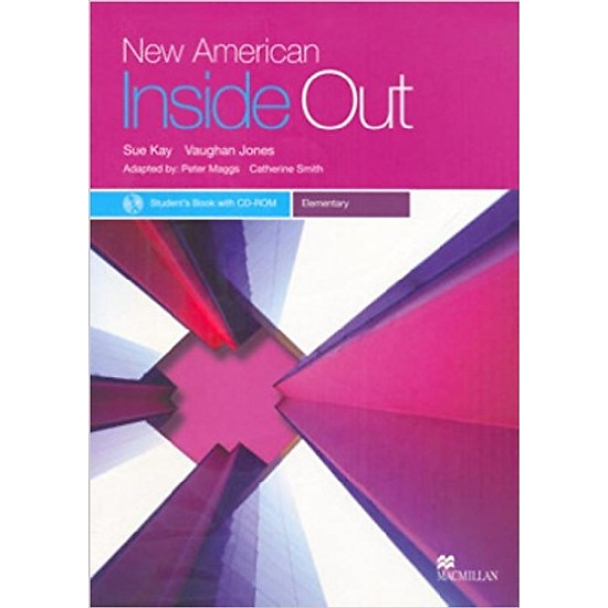 New American Inside Out Ele: Student Book With CD-Rom - Paperback