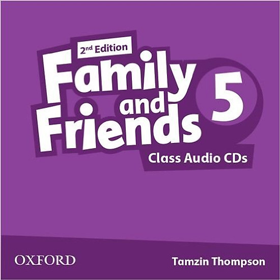 [Download Sách] Family & Friends (2 Ed.) 5 Class Audio CD (3) - Paperback