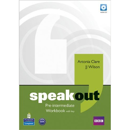 Speakout Pre-Inter: Workbook With Key & Audio CD