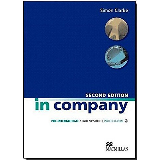 In Company (2 Ed.) Pre-Inter: Student Book With CD-ROM – Paperback