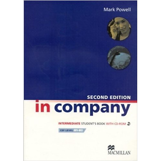 In Company (2 Ed.) Inter: Student Book With CD-Rom – Paperback