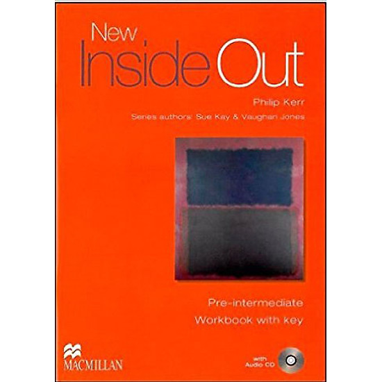 New Inside Out Pre-Inter: Workbook With Key With CD-Rom - Paperback