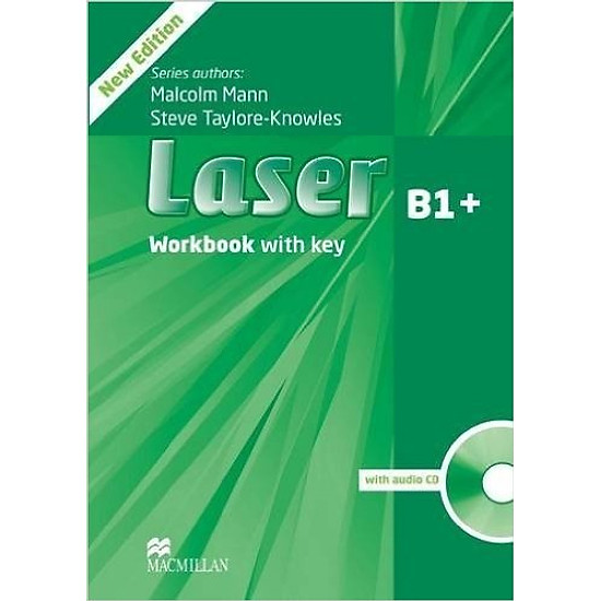Laser (3 Ed.) B1+: Workbook With Key With CD- Paperback