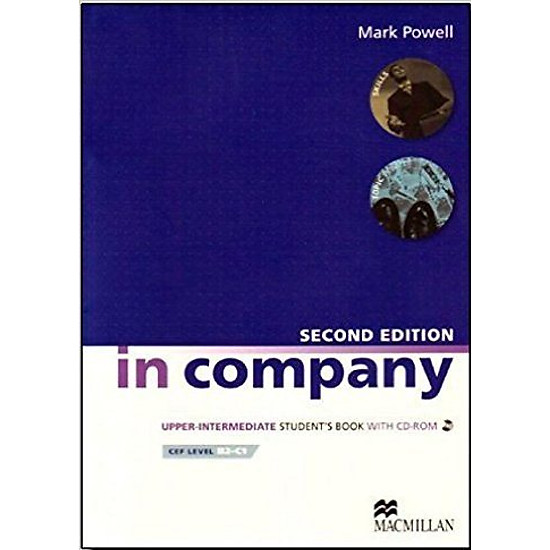 In Company (2 Ed.) Upper-Inter: Student Book With CD-Rom - Paperback