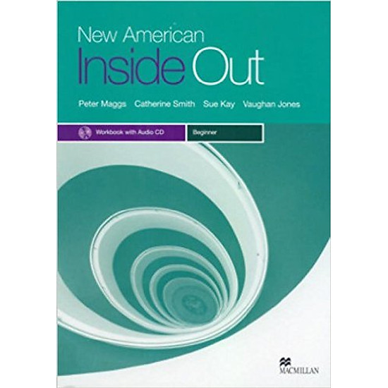 New American Inside Out Beginner: Workbook With Audio CD – Paperback