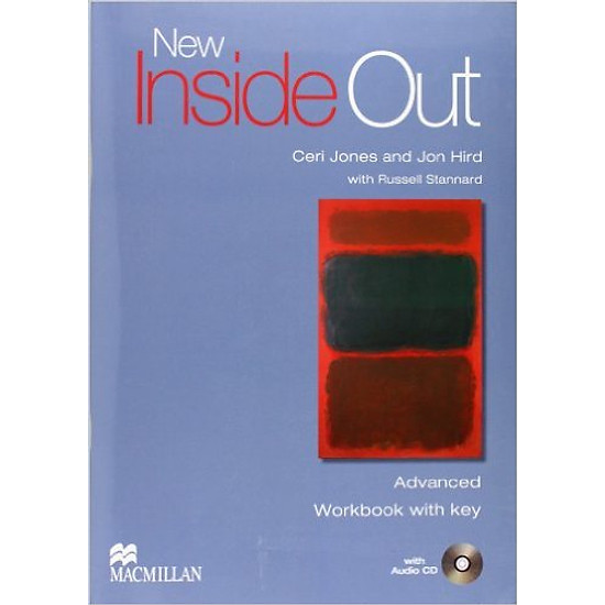 New Inside Out Adv: Workbook With Key With CD-Rom – Paperback