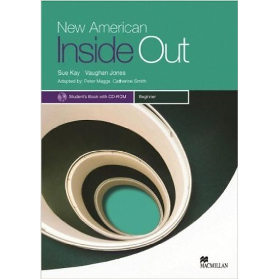 New American Inside Out Beginner: Student Book With CD-Rom - Paperback