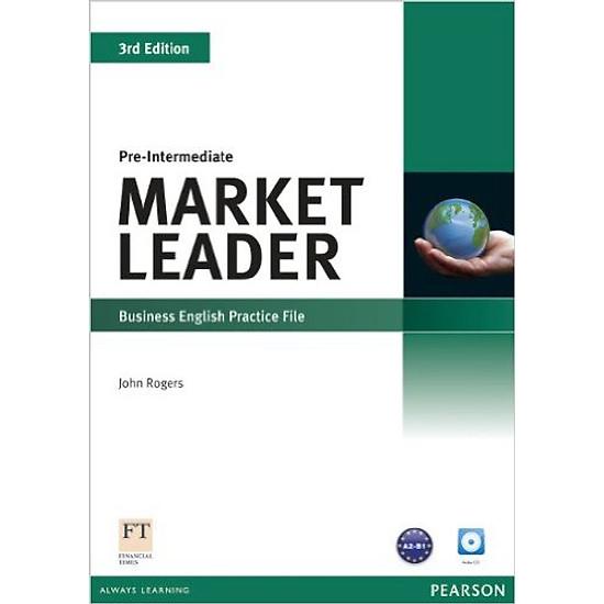 Market Leader ( 3 Ed.) Pre-Inter: Practice File With CD- Paperback