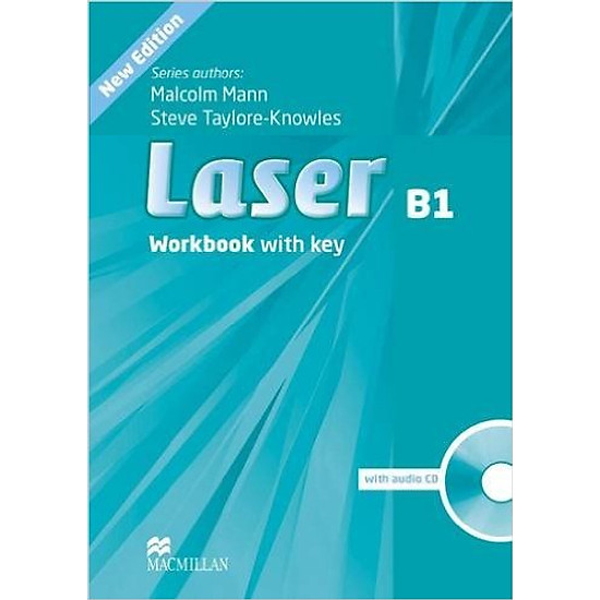 Laser (3 Ed.) B1: Workbook With Key With CD – Paperback