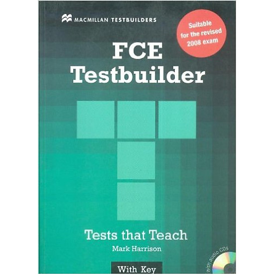 New FCE TestBuilder: Student Book With Key With Audio CD – Paperback