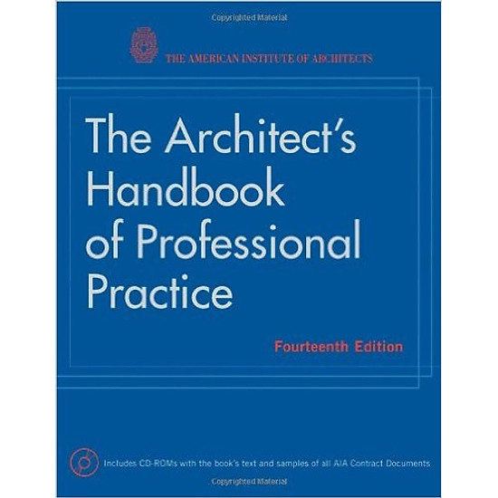 The Architects Handbook of Professional Practice – Hardcover