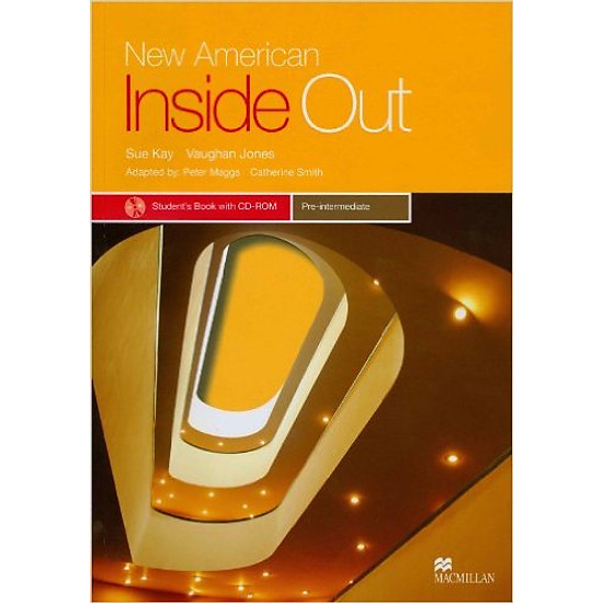 New American Inside Out Pre-Inter: Student Book With CD-Rom