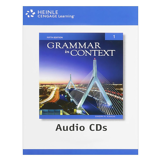 [Download Sách] Grammar In Context 1: Audio CDs (2)