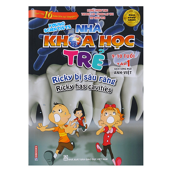 Nhà Khoa Học Trẻ  - Young Scientists 9-10 Tuổi Tập 1: Ricky Bị Sâu Răng