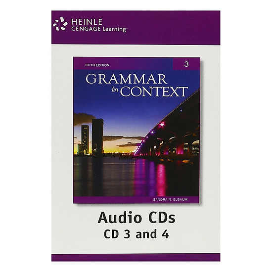 [Download Sách] Grammar In Context 3: Audio CDs (4)