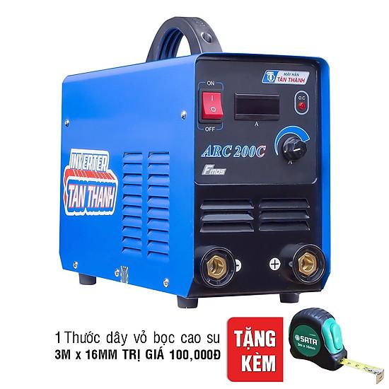 Máy Hàn Que Inverter Đồng Hồ Điện Tử Tân Thành 200A ARC200C ...