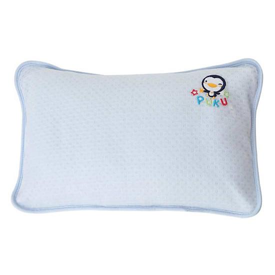 Gối Cotton Kháng Khuẩn Puku P33119-200 – Màu Xanh (35 x 22 cm)
