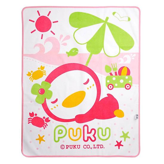 Tấm Lót Chống Thấm Puku P33205-399 – Màu Hồng (80 x 100 cm)