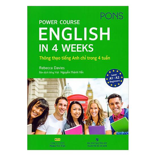 English In 4 Weeks - Thông Thạo Tiếng Anh Chỉ Trong 4 Tuần (Kèm Đĩa MP3)
