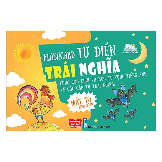 [Download Sách] Flash Card - Từ Điển Trái Nghĩa