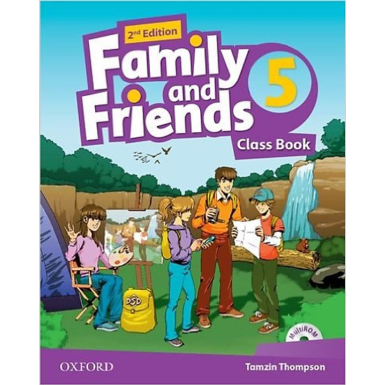 [Download sách] Family & Friends (2 Ed.) 5 Class Book Pack - Paperback