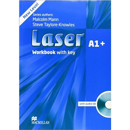 Laser (3 Ed.) A1+: Workbook With Key With CD – Paperback