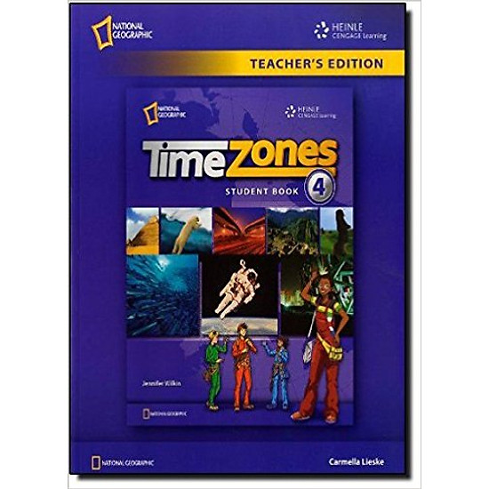 [Download Sách] Time Zones 4: Workbook - Paperback