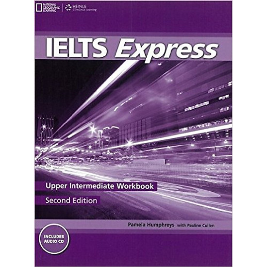 IELTS Express (2 Ed.) Upper-Inter: Workbook With Audio – Paperback