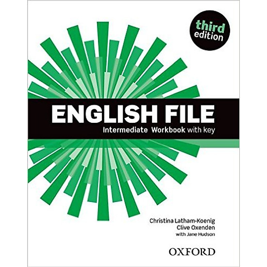 English File (3 Ed.) Inter: Workbook With Key – Paperback