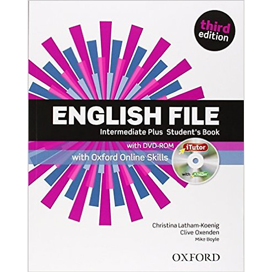English File (3 Ed.) Inter Plus: Student Book With ITutor With Online Skills Practice Pack – Paperback