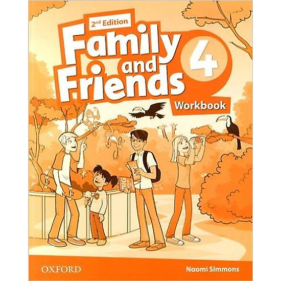 Family & Friends (2 Ed.) 4 Workbook – Paperback