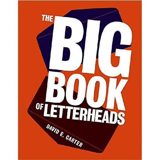 The Big Book of Letterheads – Hardcover