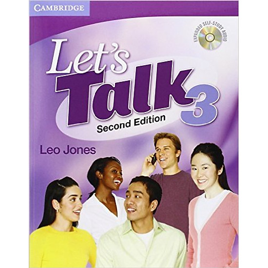 Let Talk (2 Ed.) 3: Student Book Self-Study Audio CD – Paperback