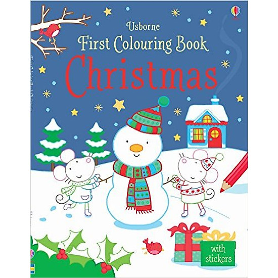 My First Colouring Book Christmas