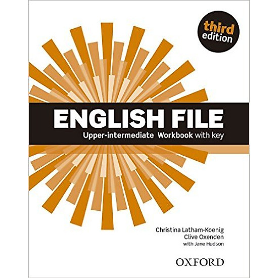 English File (3 Ed.) Upper-Inter: Workbook With Key - Paperback