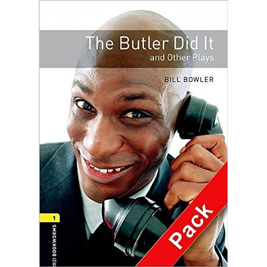 OBWL 1: The Butler Did It and Other Plays Playscript Audio CD Pack – Paperback