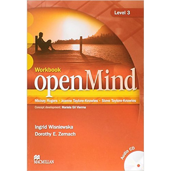 OpenMind 3: Workbook With CD – Paperback