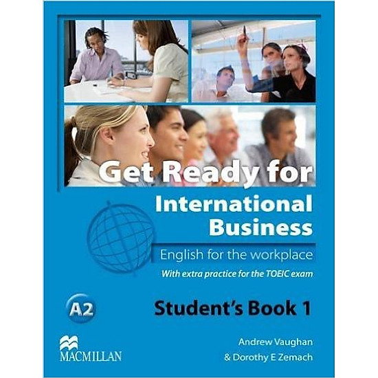 Get Ready for International Business 1: Student Book With Toeic – Paperback