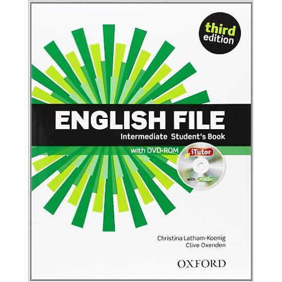 English File (3 Ed.) Inter: Student Book With ITutor Pack – Paperback