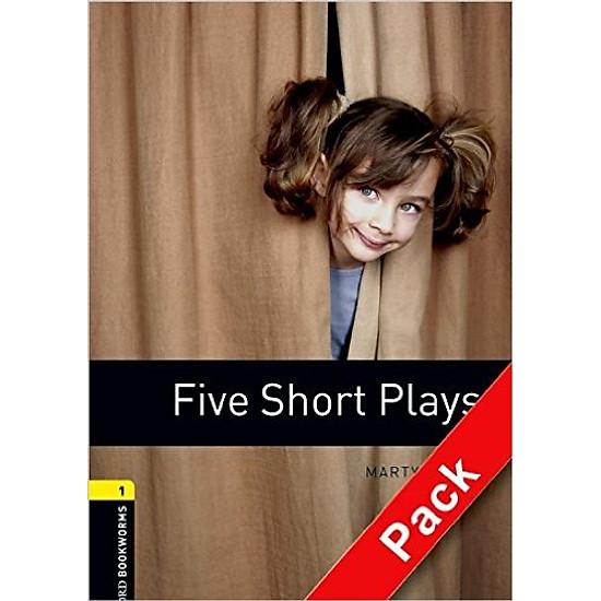 OBWL 1: Five Short Plays Playscript Audio CD Pack – Paperback