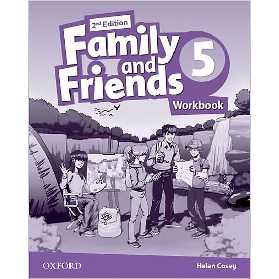 Family & Friends (2 Ed.) 5 Workbook – Paperback