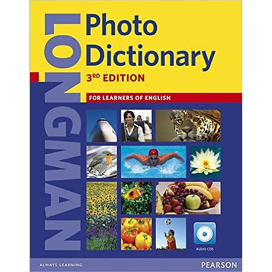Longman Photo Dictionary Paper With Audio CDs