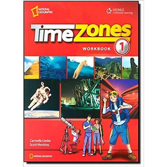 Time Zones 1: Workbook – Paperback