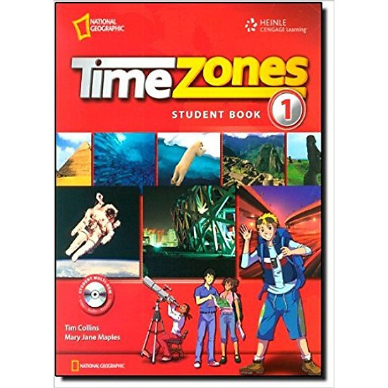 Time Zones 1: Student Book With MultiROM – Paperback