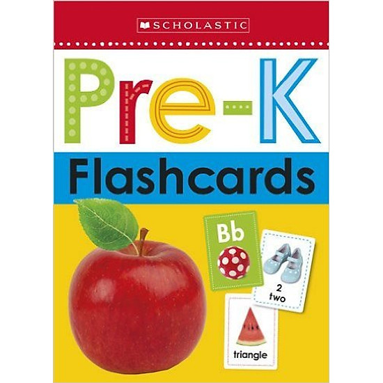 [Download Sách] Flashcards - Get Ready For Pre-K (Scholastic Early Learners)