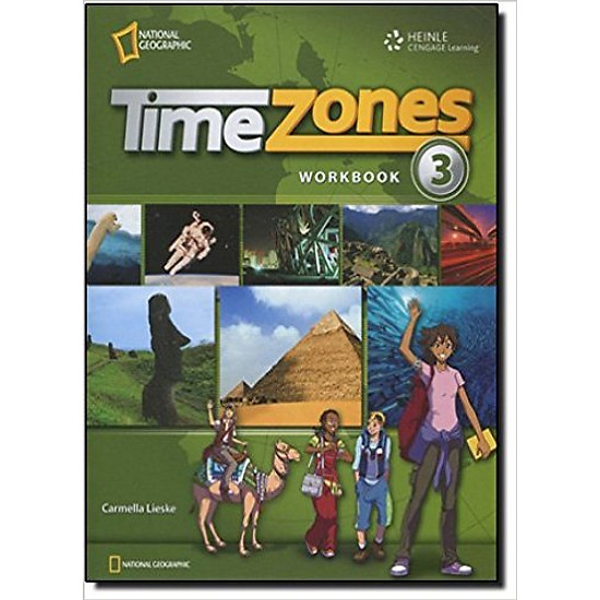 Time Zones 3: Workbook – Paperback