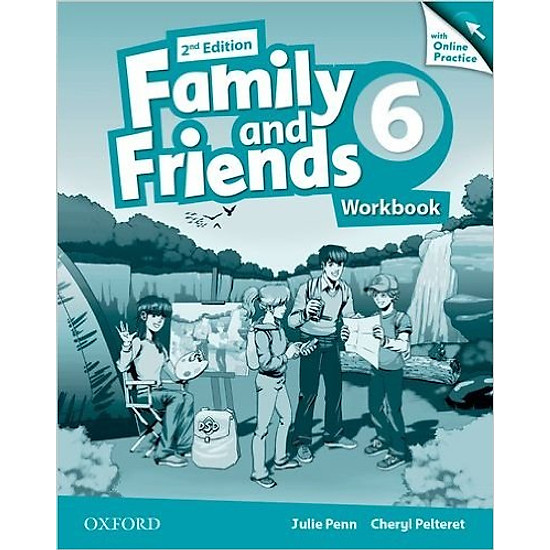 Family & Friends (2 Ed.) 6 Workbook & Online Practice Pack – Paperback